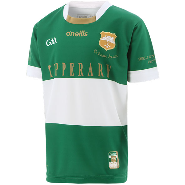 O'Neills Tipperary 1920 Goalkeeper Kids' Jersey, Green / White