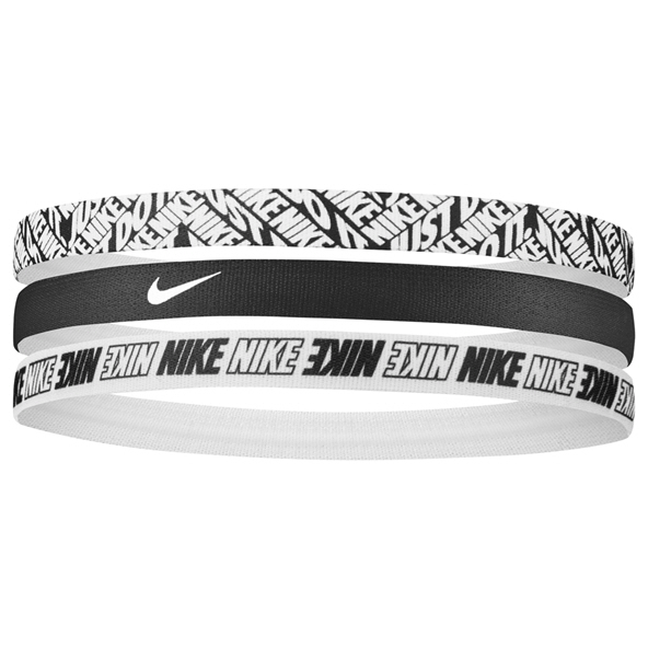 Nike Printed Headbands- 3 Pack