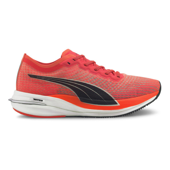 Puma Deviate Nitro Women's Running Shoe, Orange/Black