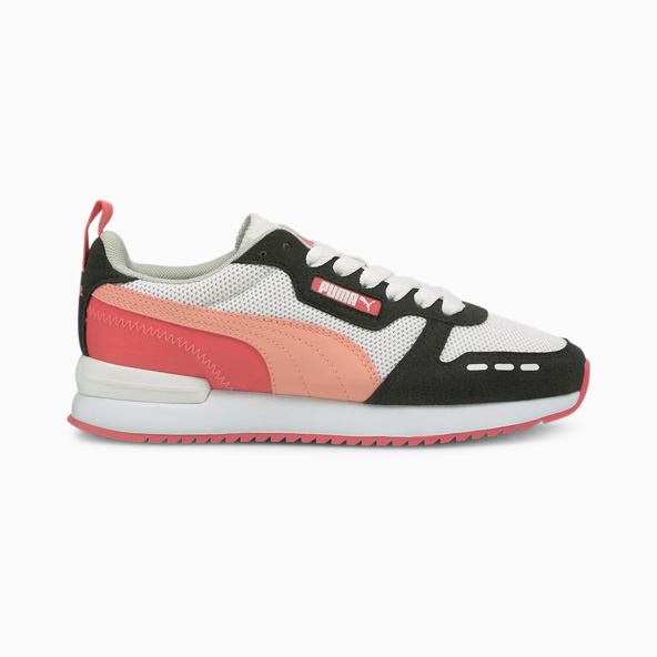 Puma R78 Kid Girls' Shoe White/Apricot