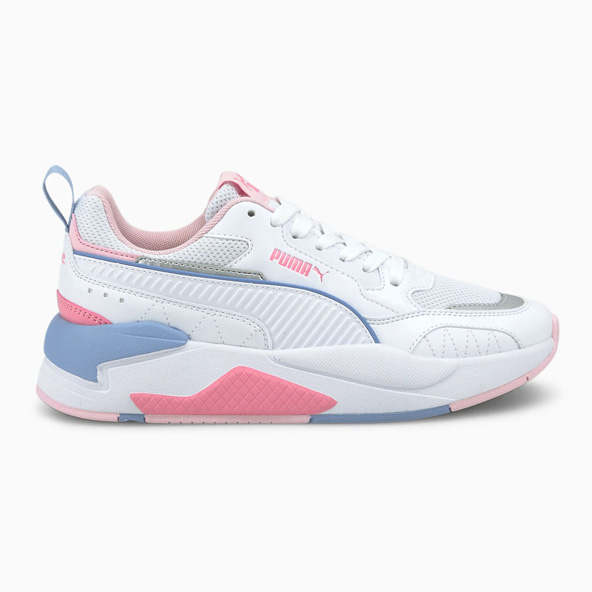 Puma X-Ray 2 Square Junior Girls' Shoe White / Pink