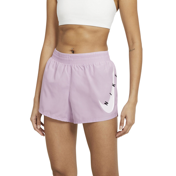 Nike Swoosh Run Women's Running Shorts Purple