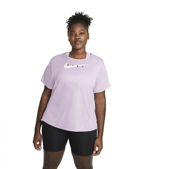 Nike Swoosh Run Women's Short-Sleeve Running T-Shirt Purple