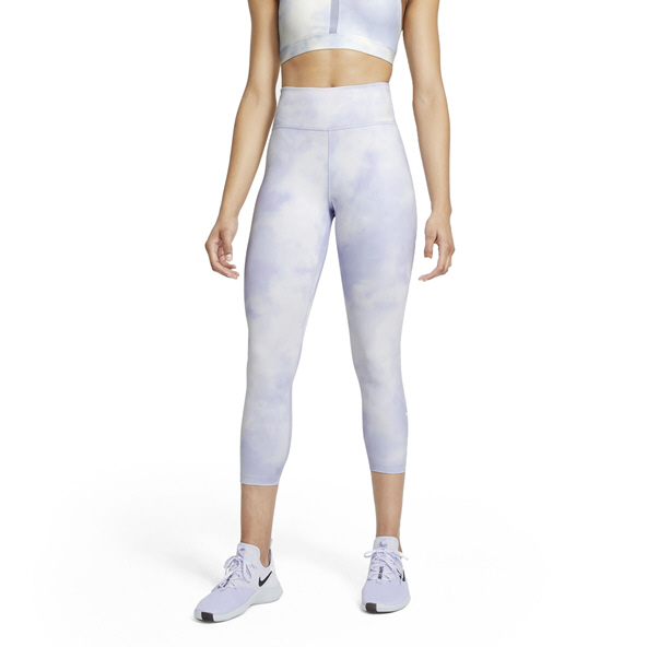 Nike Wmns One IcnClsh Crop Tight Purple