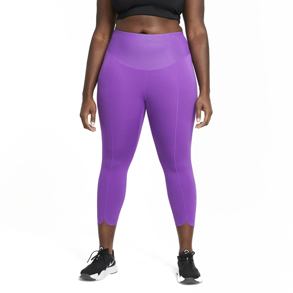 Nike Wmns One Luxe Icon Crop Tight Pink
