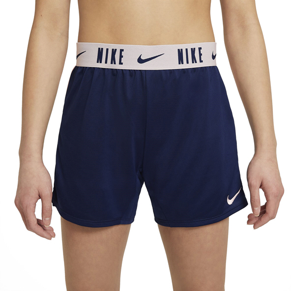 Nike Girls DF Trophy 6in Short Blue