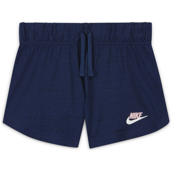 Nike Girls' Swoosh 4in Short Blue