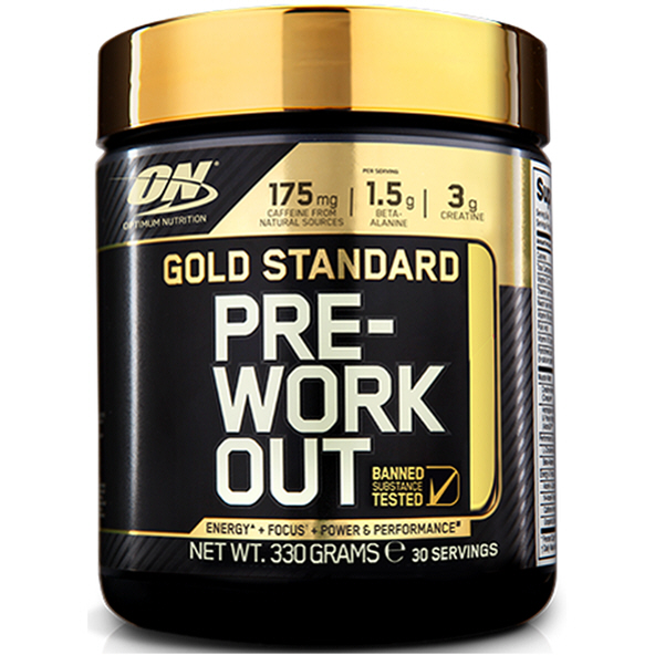 ON Gold Standard Pre-Workout 300g Tub