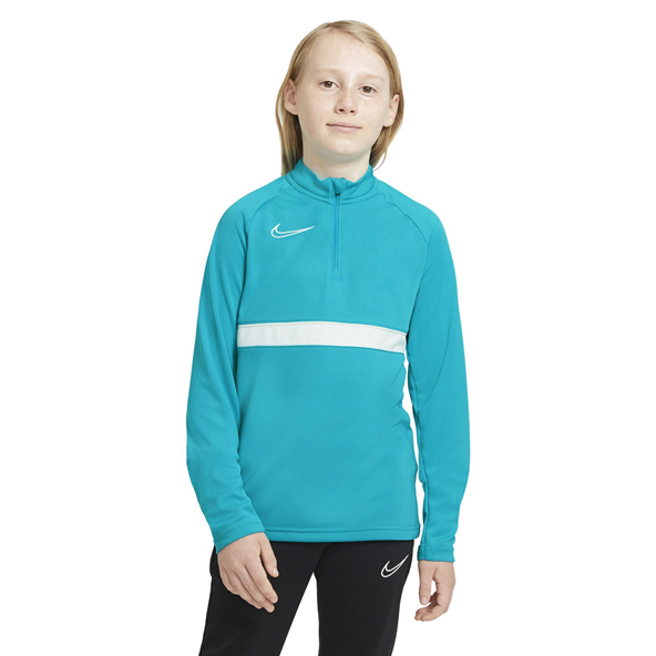 Nike Kids DF ACD21 Dril Half Zip Blue