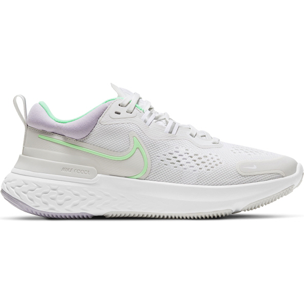 Nike React Miler 2 Womens Run Silver/Grn