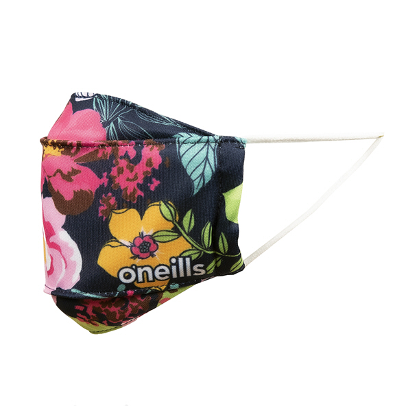 O'Neills Floral Face Mask Blue