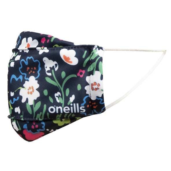 O'Neills Floral Kids' Face Mask Blue