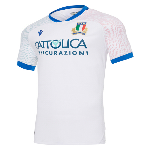 Macron Italy 21 Away Kids Jersey, White