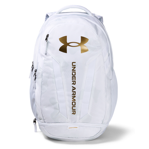 UnderAmour Hustle 5.0 Backpack White