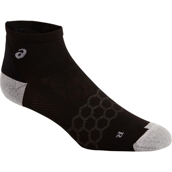 Asics Men's Speed Quarter Socks, Black