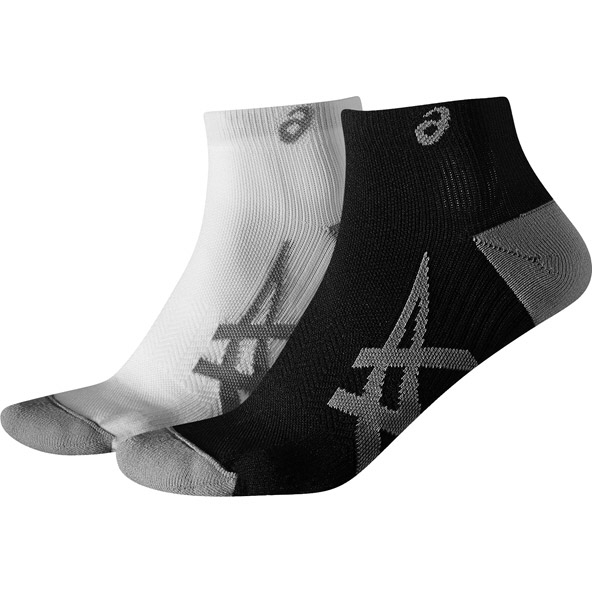 Asics 2pk Men's Lightweight Socks, White