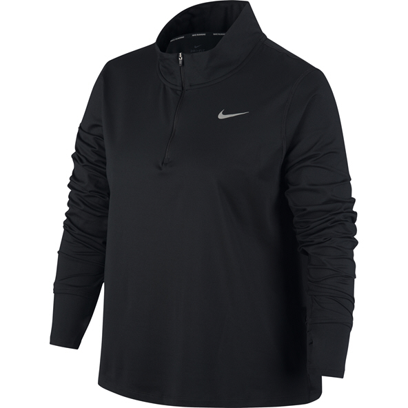 Nike Element Women's ½ Zip Running Top Black