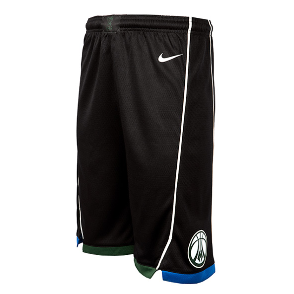 Nike Bucks Kids' Shorts, Black
