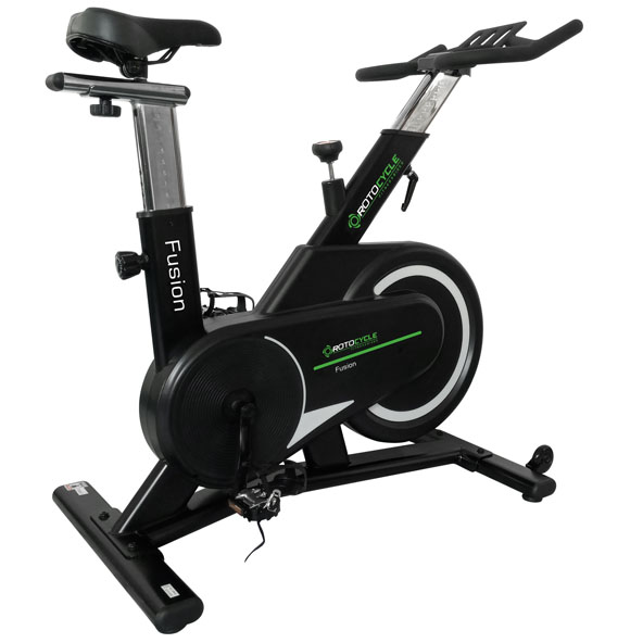 Rotocycle Fusion Spin Bike, Black