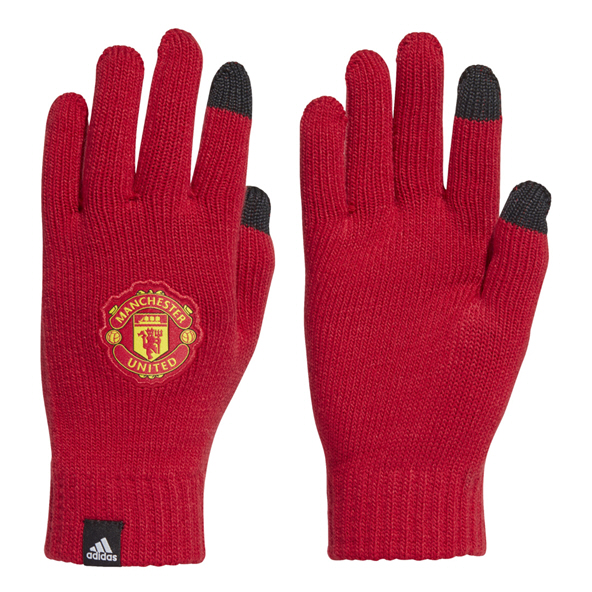 adidas Manchester United Gloves Red/White