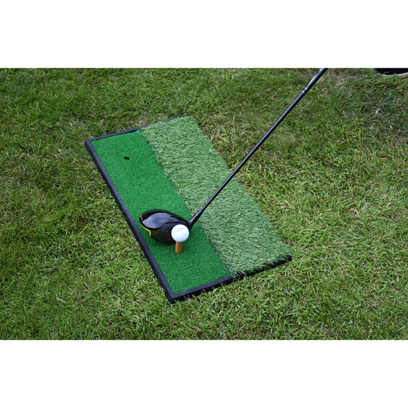 Precision Golf Practice Mat Green