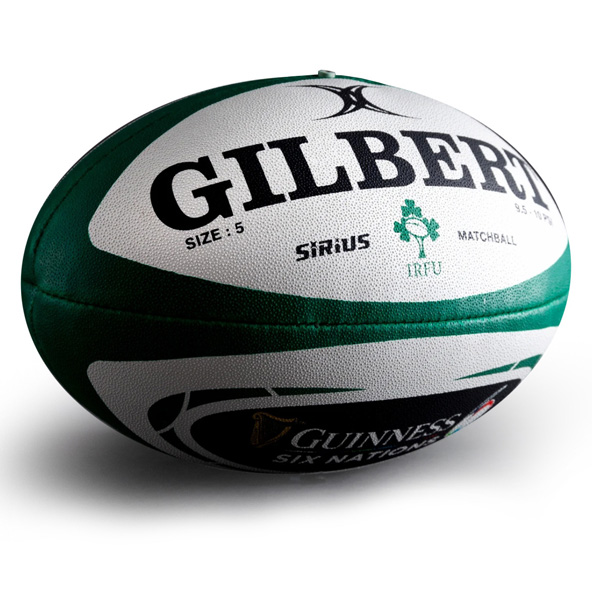 Gilbert IRFU Six Nations Match Ball
