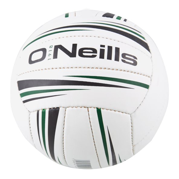 O'Neills Inter County GAA Trainer Football, White, Size 5