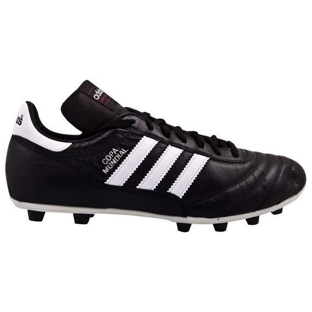 Adidas Copa Mundial Adults' Moulded Football Boot Black/White