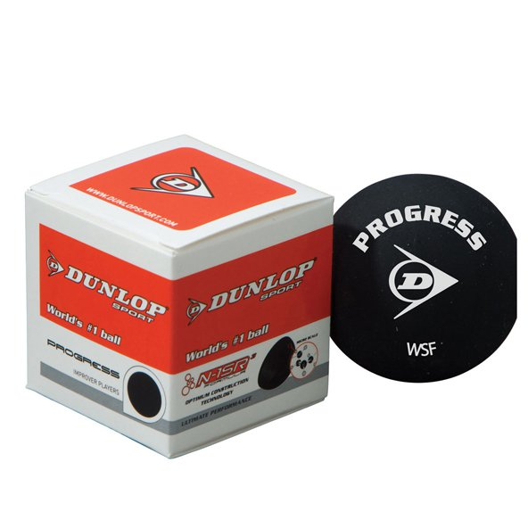 Dunlop Progress Squash Ball Red