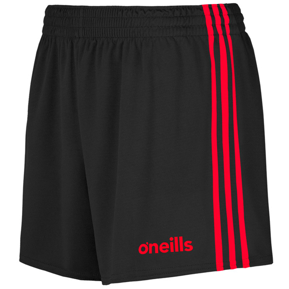 O'Neills Mourne Shorts Blk/Red