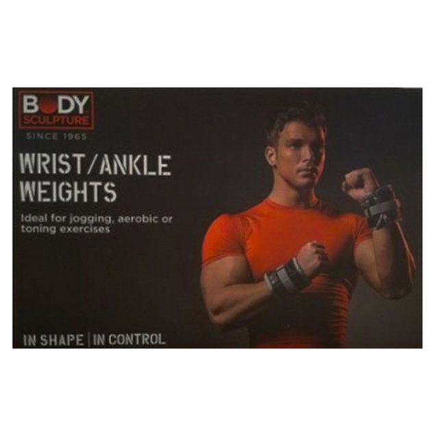 Body Sculpture 5lb Ankle/Wrist Weight Bl