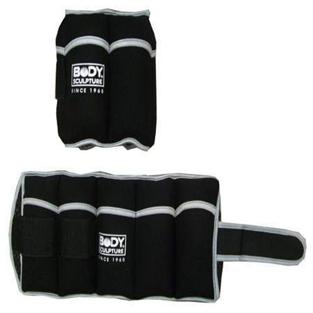 Body Sculpture 10LB Adjustable Soft Wrist/Ankle Weights