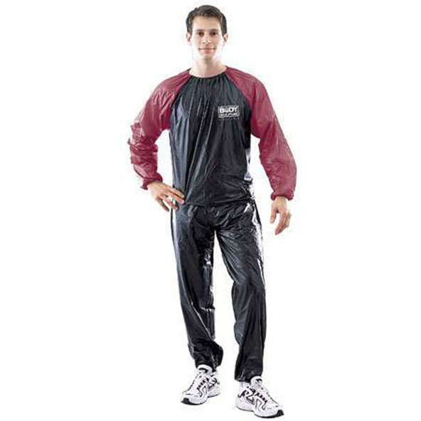 Body Sculpture Sauna Suit, Black