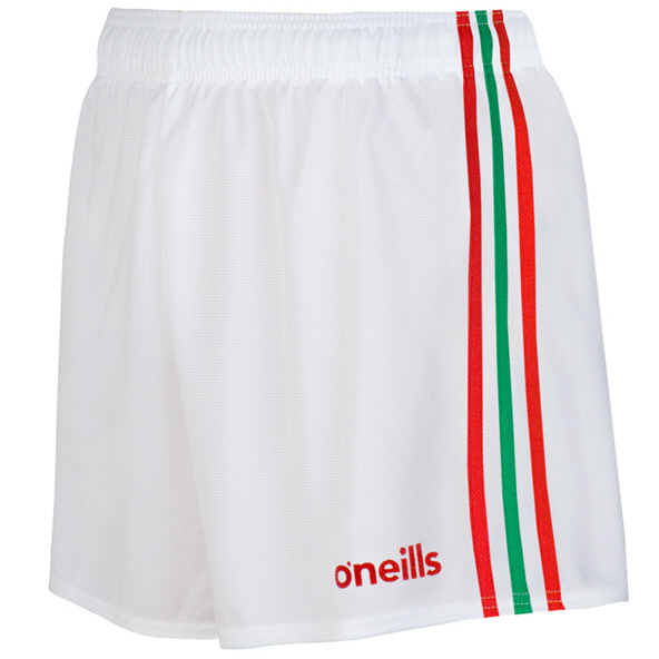 O'Neills Mourne Kids Short Wht/Red