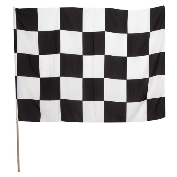 INDT CHEQ FLAG BLK/WHT (MUL)