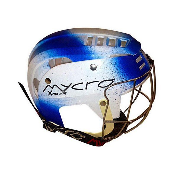 Mycro GAA Hurling Helmet Blue/White