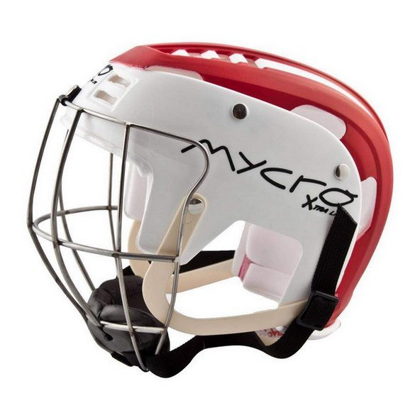 Mycro Helmet Red White