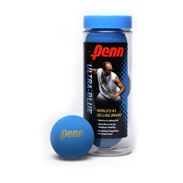Penn 3 Can Racquet Ball Blue