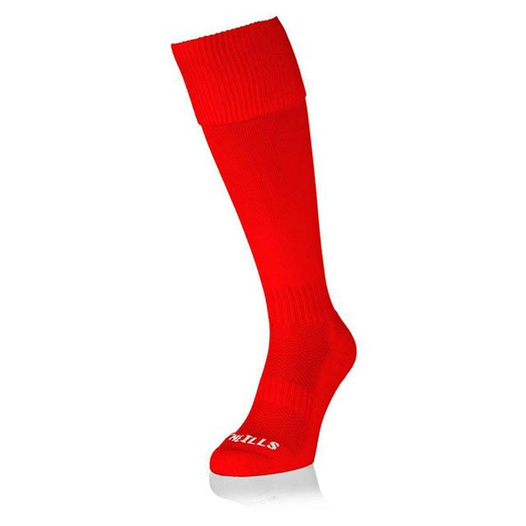ONS PLAIN RED SOCK
