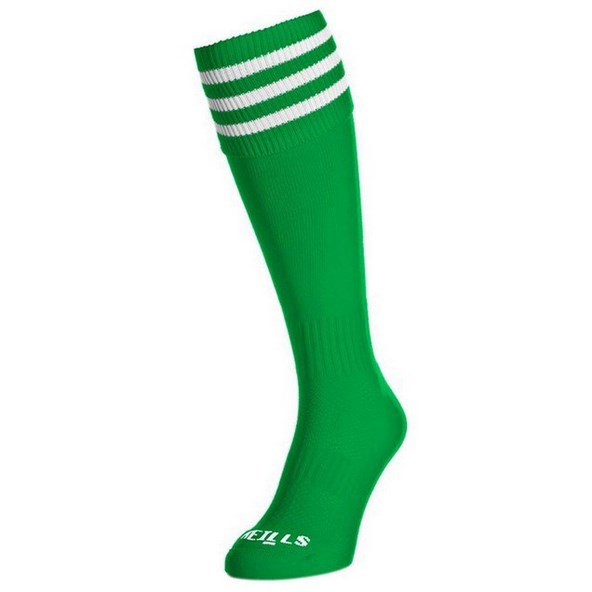 O'Neills Sock Green/White Bars