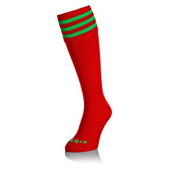 O'Neills Sock Red/Green Bars