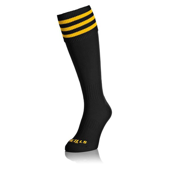 O'Neills Sock Black/Amber Bars