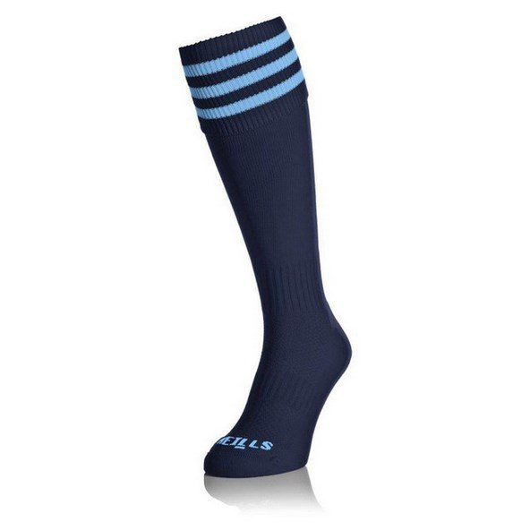 O'Neills Sock Navy/Sky Bars