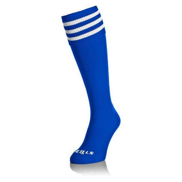 O'Neills GAA Kids' Bar Sock Blue/White