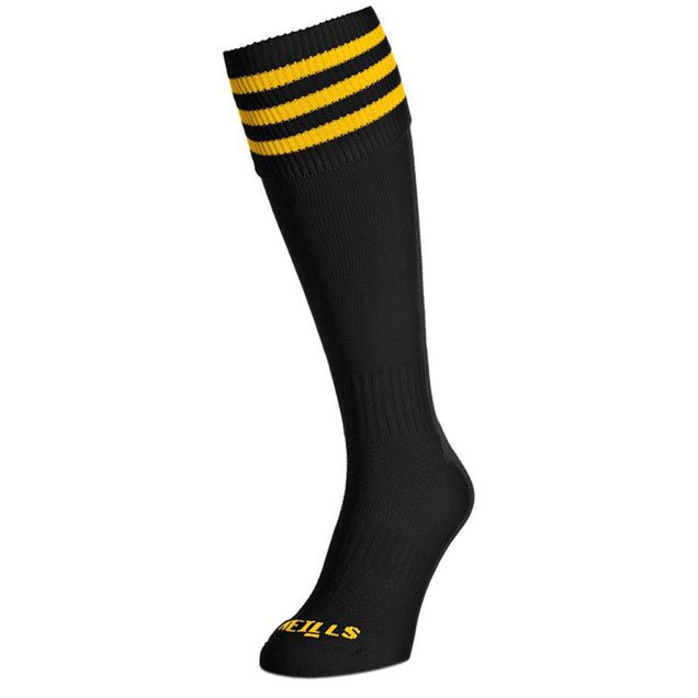 O'Neills Kids Sock Black/Amber Bars