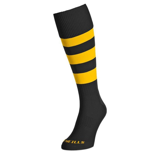 O'Neills Kids Sock Black/Amber Hoop
