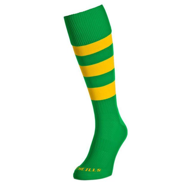 O'Neills Kids Sock Green/Amber Hoop
