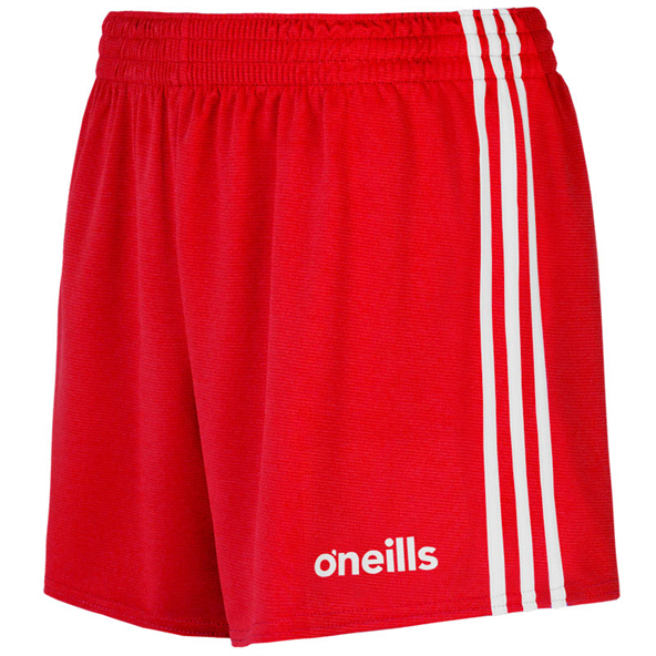 O'Neills Mourne Kids' Short, Red/White