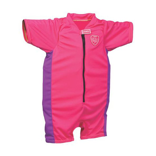 G SPEEDO BOBBLE FLOATSUIT PINK
