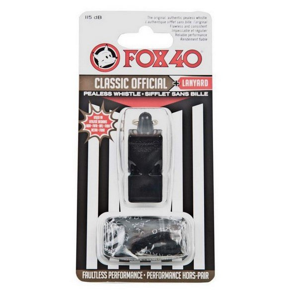 FOX 40 Classic Official Whistle & Lanyard